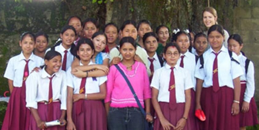 school teaching volunteer nepal hands for help nepal